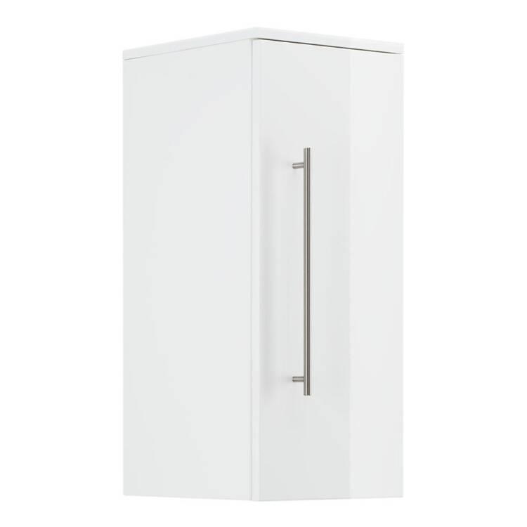 11% Hängeschrank Für Badezimmer LIBERTA 02 In Weiß Hochglanz Mit  Türdämpfung B/H/T