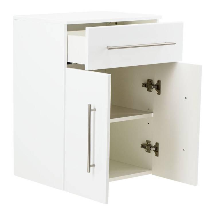 Unterschrank Badschrank Hängend Liberta 02 In Weiß Hochglanz Mit 2 Türen Und Türdämpfung Bht Ca 537237cm