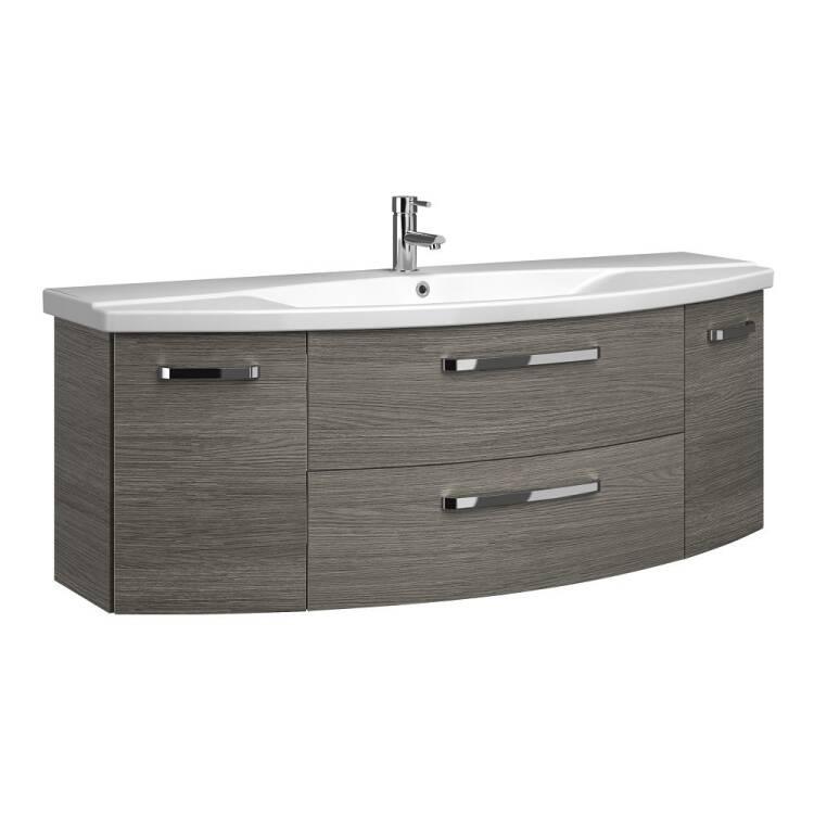 Badezimmer 140cm Waschtisch Fes 4010 66 Mit Unterschrank Waschbecken