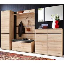 Wardrobes series LISSOBA-01, beech, Now you can assemble...
