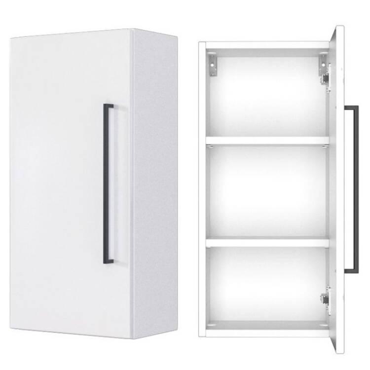 Badezimmer Hängeschrank Manly 03 Weiß B H T 30 64 20 Cm