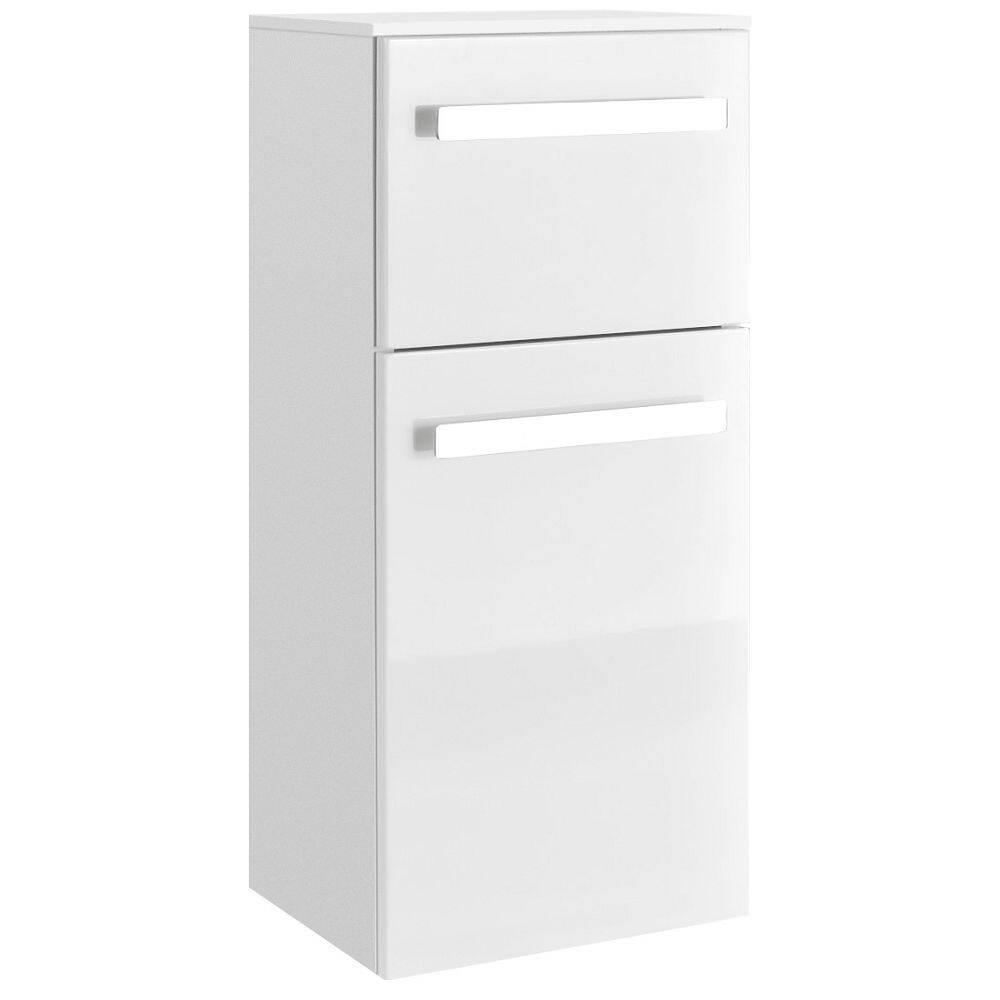 Badezimmer Wandschrank Fes 4005 66 In Hochglanz Lack Polarweiss Hangen