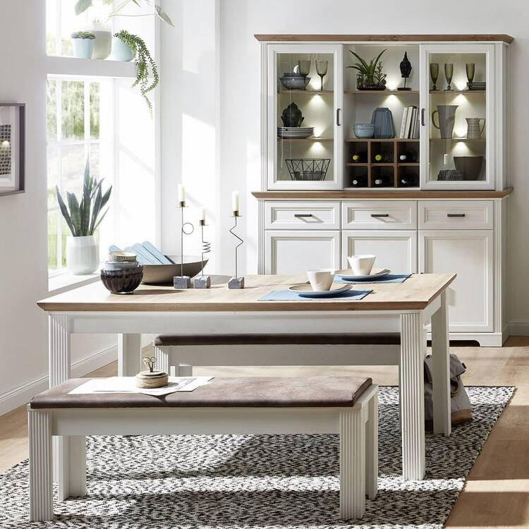 Dining Area With Large Buffet Cabinet, Buffet Hutch Furniture
