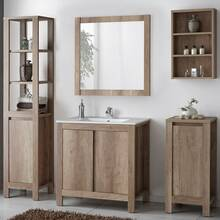 Bathroom Furniture Series MOSINA-56, Country Oak Nb.,...