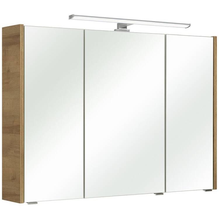 Bekannt Badezimmer Spiegelschrank mit LED-Beleuchtung RAIPUR-66 in Korpus Rivi RR54