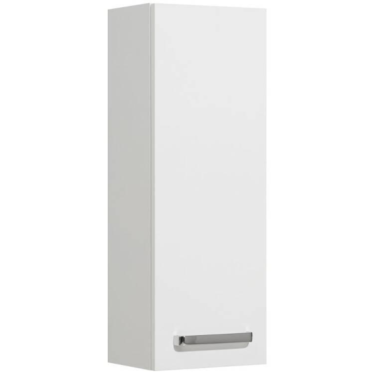 Badezimmer Wandschrank Hängeschrank WARSCHAU-66 in weiß glänzend - B/H