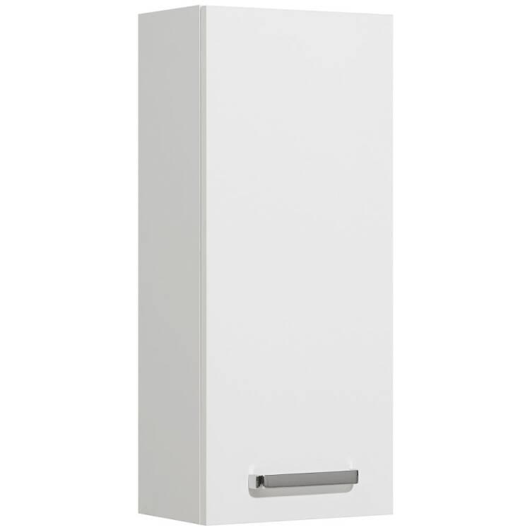 Badezimmer Hängeschrank WARSCHAU-66 Wandschrank in weiß glänzend - B/H