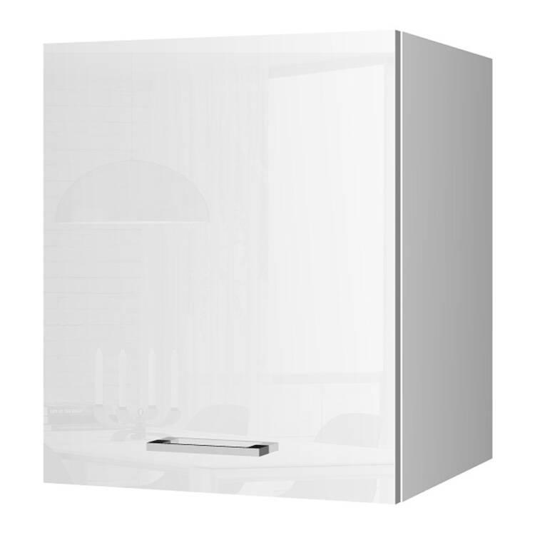 Küchen-Hängeschrank 50 MARANELLO-03 Weiß Hochglanz Breite 50 cm