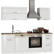 Kitchen unit 220 with dishwasher MARANELLO-03 White high...