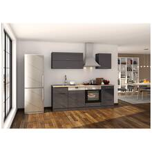 Kitchen unit 220 with dishwasher MARANELLO-03 Anthracite...