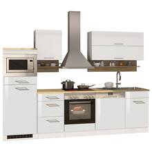 Kitchen unit white MARANELLO-03 incl. electrical...