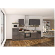 Kitchenette grey MARANELLO-03 incl. electrical...