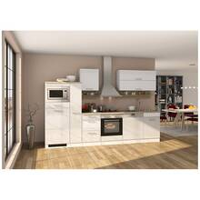 Kitchen white 310 cm MARANELLO-03 including electrical...