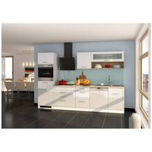 Kitchen with dishwasher 300 cm white MARANELLO-03 incl....