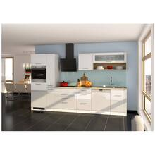 Kitchen unit high gloss white 330 cm MARANELLO-03 incl....