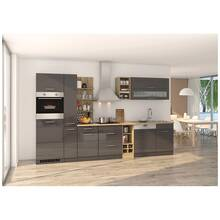 Complete kitchen 340 cm grey MARANELLO-03 incl....