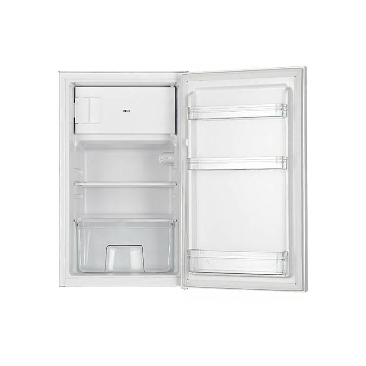 Single Küchenzeile 210 TERAMO 03 Hochglanz Rot Breite 210 Cm Inkl.  Kühlschrank B