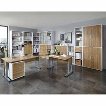 Office furniture set to assemble yourself COLUMBUS-10 Old...