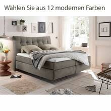Box spring bed MALIBU-09 with lying area 180x200cm -...