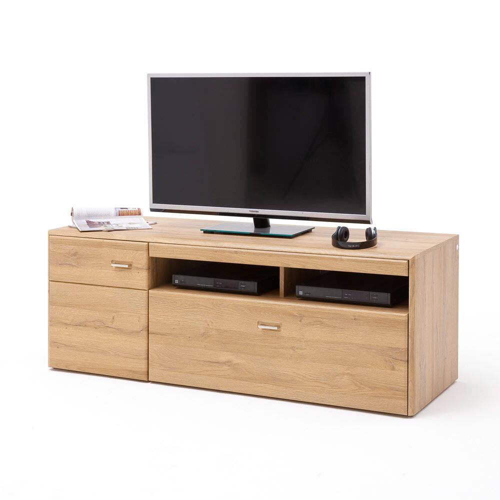 TV-Lowboard FERROL-10 Wohnzimmer Fernsehschrank in Grandson Oak Nb. -  B/H/T: 10/10/10cm