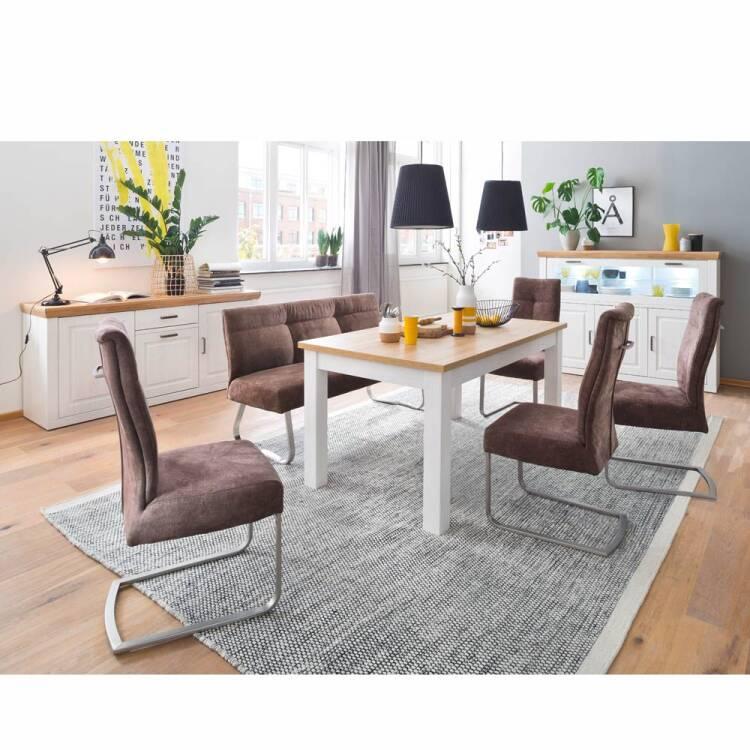 Wohnzimmer Möbel Serie BRASILIA-05 Landhausstil in Pinie Aurelio Nb. &