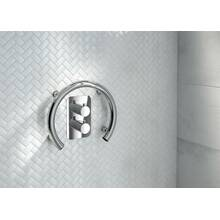 Bath tub handle VITAL-30 polished steel
