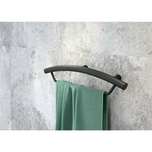 Wall handle for bathroom with towel holder VITAL-30 matt...
