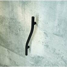 Wall Handle for Shower horizintal VITAL-30 matt Black