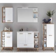 bathroom furniture series MALANJE-66 in white glossy &...