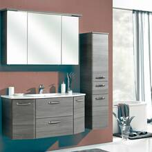 bathroom furniture series ALINA-66 in graphite structure...