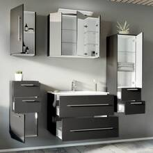 Bathroom series ABUJA-02 in anthracite - put together by...