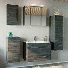 Bathroom series ABUJA-02 in graphite structure - assemble...