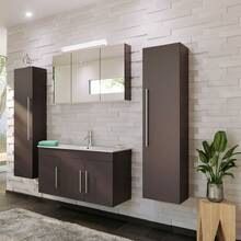 100cm bathroom washbasin TABRIS-02 - anthracite satin...