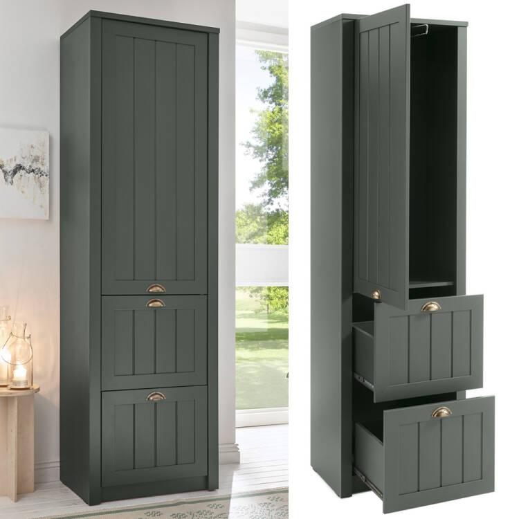 Einfach Garderobenschrank Mit Spiegel Fotos Von Wohndesign Ideen