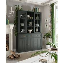 Country house buffet cupboard ATHEN-61 in noble green...