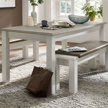 Living room furniture LEER-55 series in pine white with...