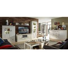 Living room furniture LEER-55 series in white pine with...