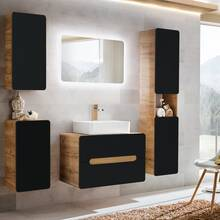 Bathroom furniture set with ceramic washbasin NEW-LUTON...