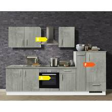Kitchen grey 310 cm MARANELLO-03 including electrical...