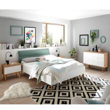 Bedroom youth room combination MAINZ-61, Scandi style,...