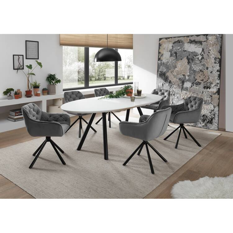 Dining Room Set 7 Pieces Den Haag 119 4 6 People Dining Table Expand