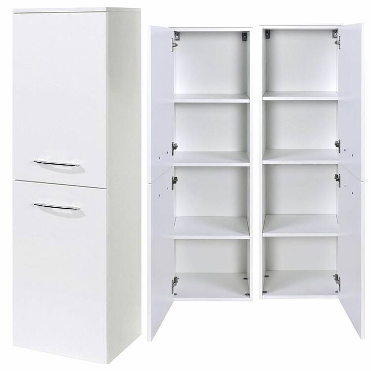 midischrank florido 03 hochglanz wei b x h x. Black Bedroom Furniture Sets. Home Design Ideas
