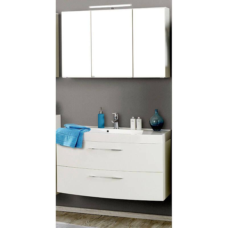 badm bel waschtisch spiegelschrank set flo. Black Bedroom Furniture Sets. Home Design Ideas