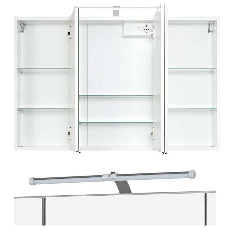 badm bel set florido 03 hochglanz wei 5 te. Black Bedroom Furniture Sets. Home Design Ideas