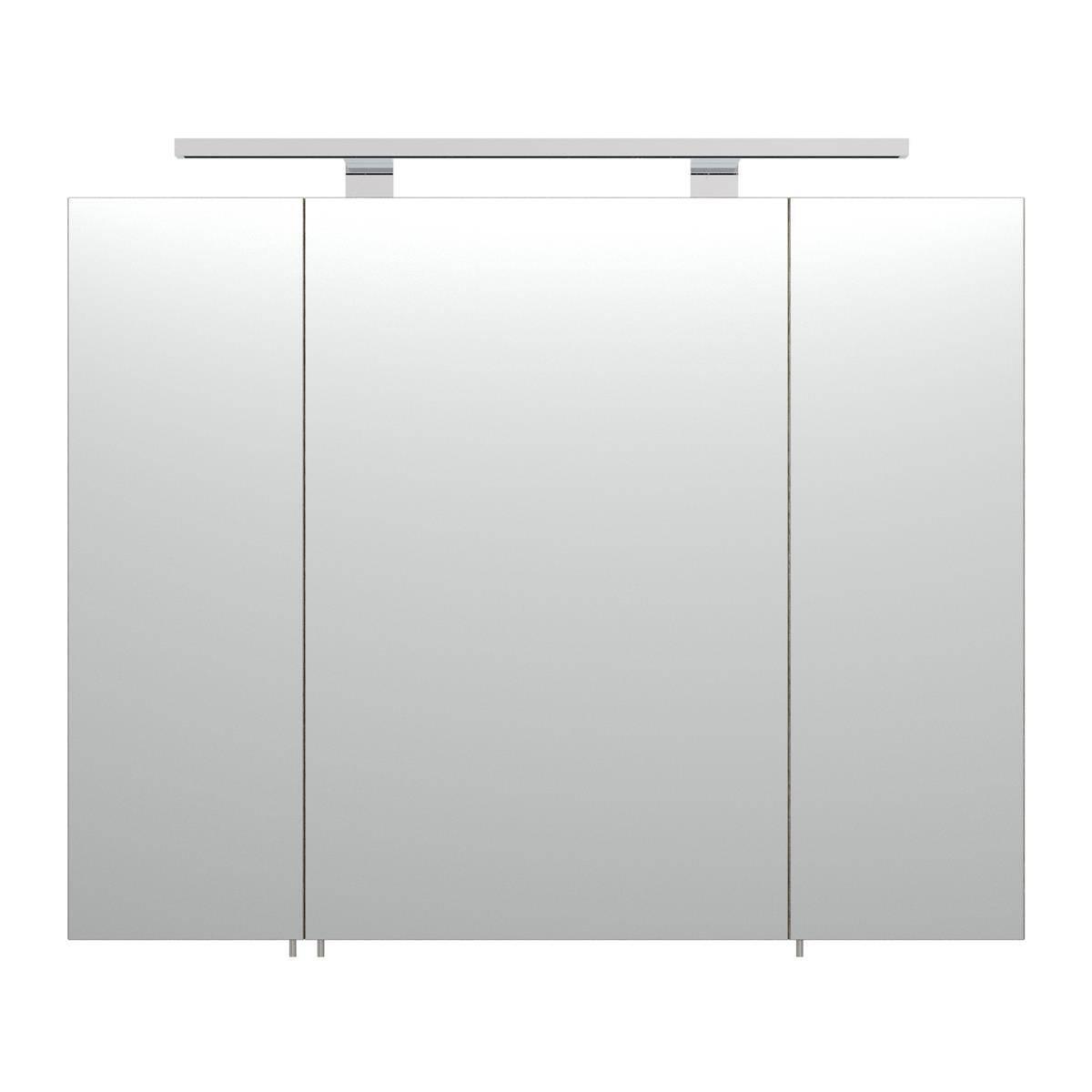 spiegelschrank rimao 100 sonoma eiche led beleuchtung. Black Bedroom Furniture Sets. Home Design Ideas