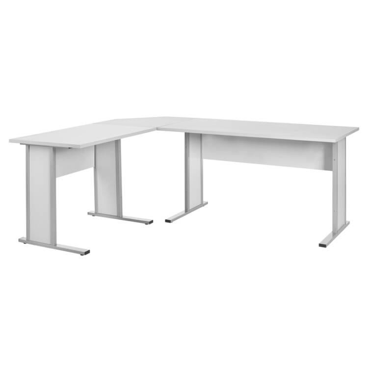Schreibtisch anstelltisch typ4000 lichtgrau breite 9 for Schreibtisch breite