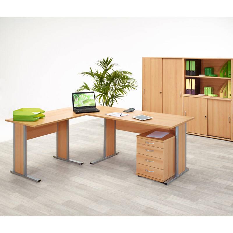 schreibtisch 90 cm lang schreibtisch anstelltisch typ4000. Black Bedroom Furniture Sets. Home Design Ideas