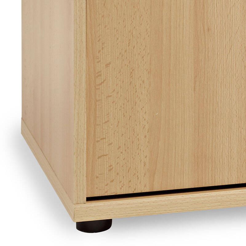aktenschrank typ4000 buche hell nachbildung 2oh sch. Black Bedroom Furniture Sets. Home Design Ideas