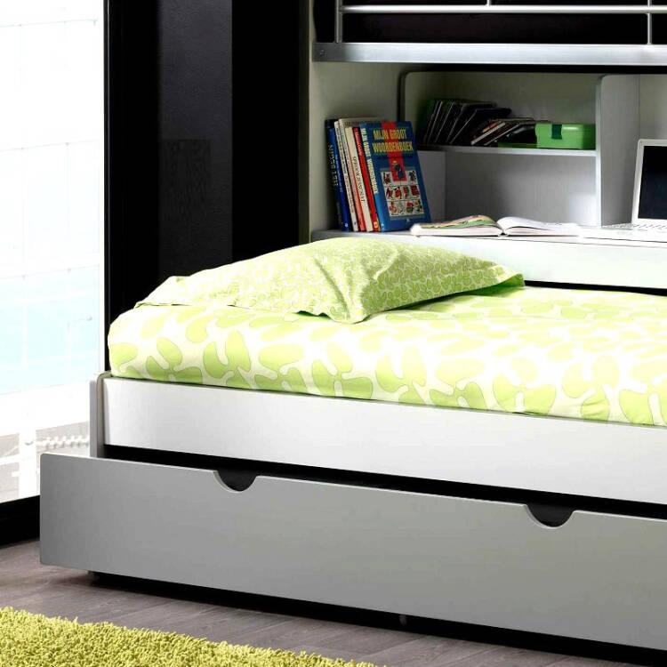 hochbett bonny 12 mit schreibtisch 2 ter liegefl ch. Black Bedroom Furniture Sets. Home Design Ideas