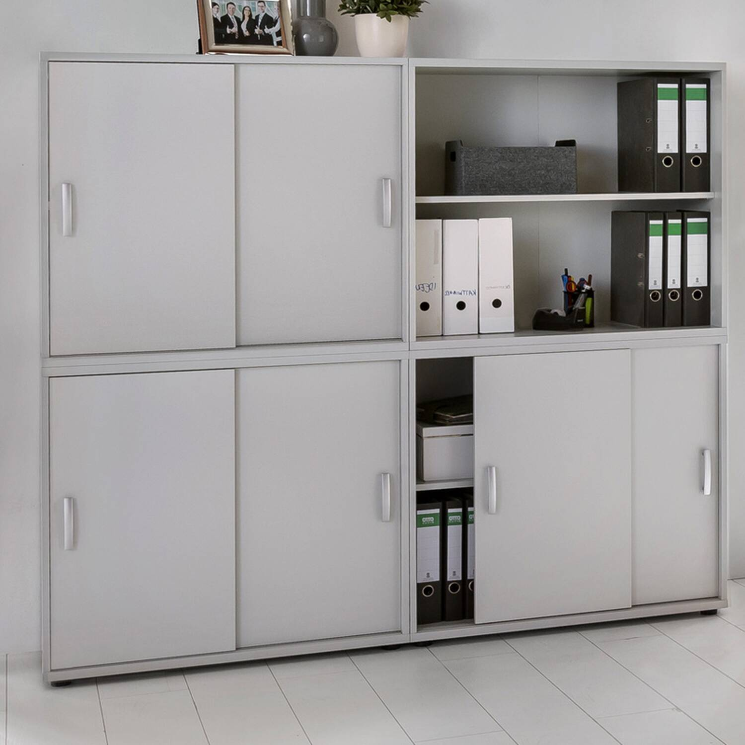 B rom bel aktenschrank regal set typ19 for Exclusive barhocker
